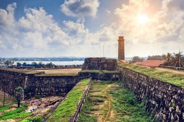Galle Fort travel destinations in Sri Lanka