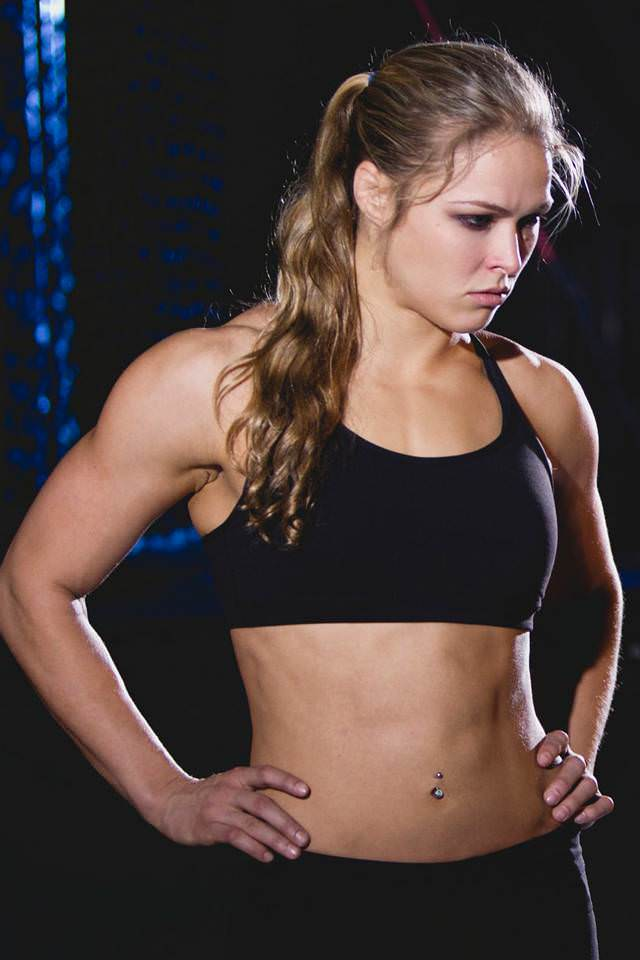 Ronda Rousey Hottest Female MMA Fighters