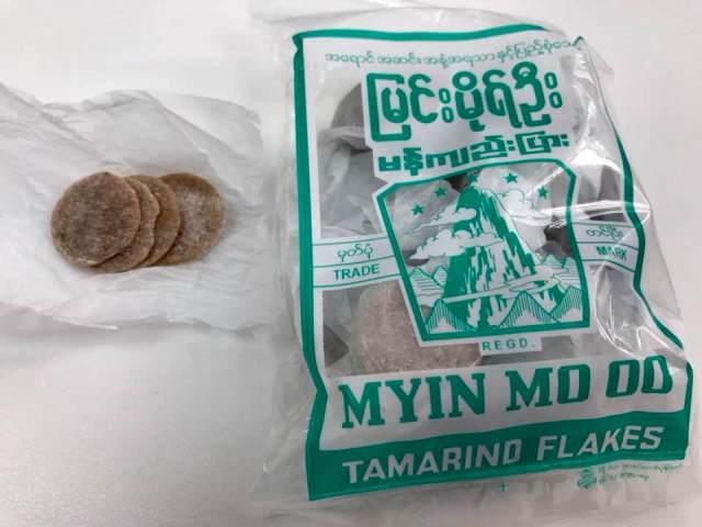 Tamarind Flakes Must Buys in Myanmar