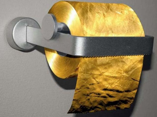 $1.5 million per roll Toilet Paper