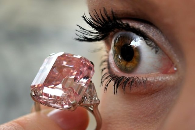 Graff Pink Diamond Most Expensive Jewelry Items