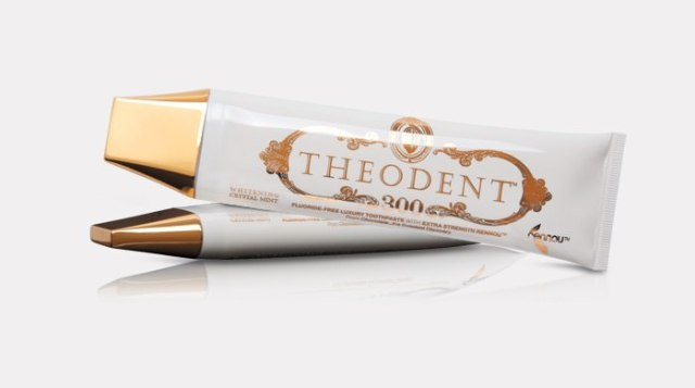 Theodent most expensive toothpaste