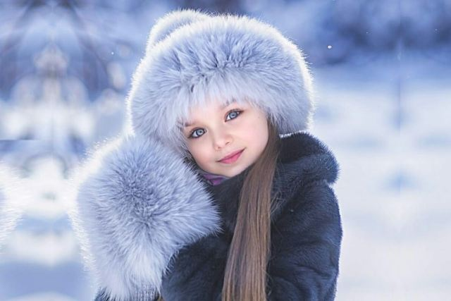 Anastasia Knyazeva most beautiful kids in the world