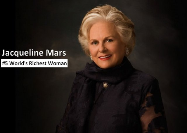 Jacqueline Mars richest women in the world 2021