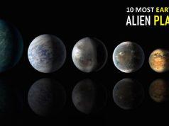 Most Earth-like Alien Planets