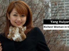 Yang Huiyan richest woman