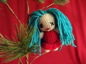 Misfit Toy Ornaments - Doll