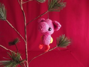 Misfit Toy Ornaments - Pigling