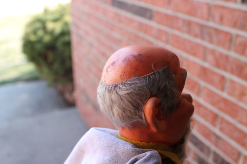 Dirty Old Man Puppet - Profile