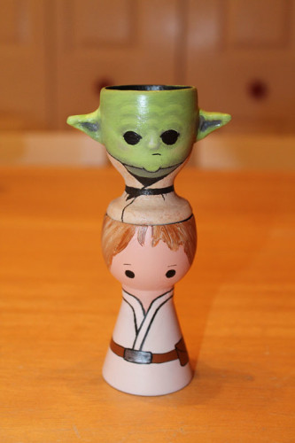 Yoda on Luke