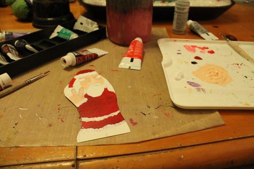Santa 3 - White Added