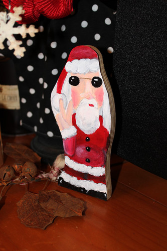 Santa 8 - Finished and Standing