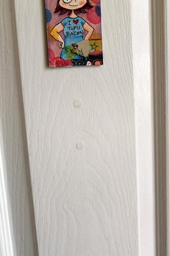 Tabs on Door