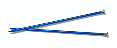 single point knitting needles