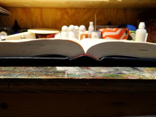 flat book