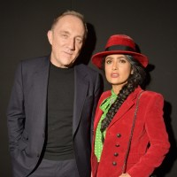 Salma Hayek, husband Francois-Henri Pinault