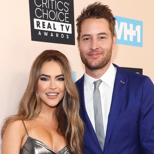 Justin Hartley, wife Chrishell Stause
