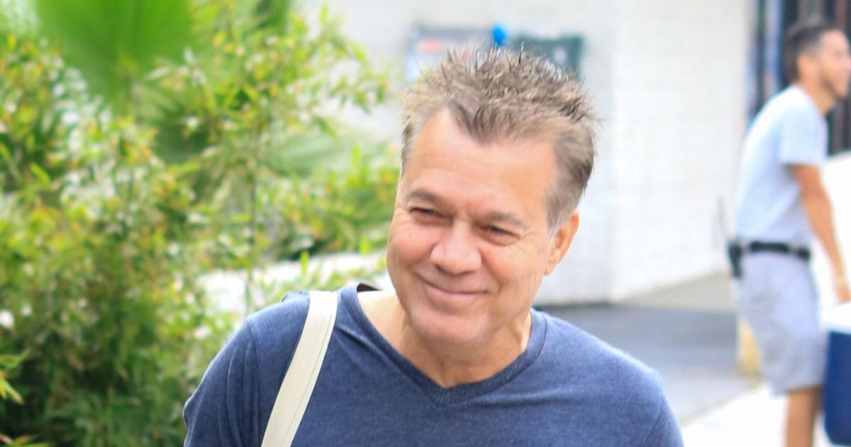 Eddie Van Halen hospitalized after reaction to cancer ...