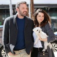 Ben Affleck, girlfriend Ana de Armas dog