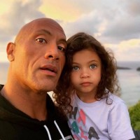 Dwayne Johnson, The Rock, daughter