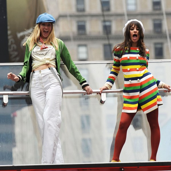 Heather Morris, Lea Michele, Glee
