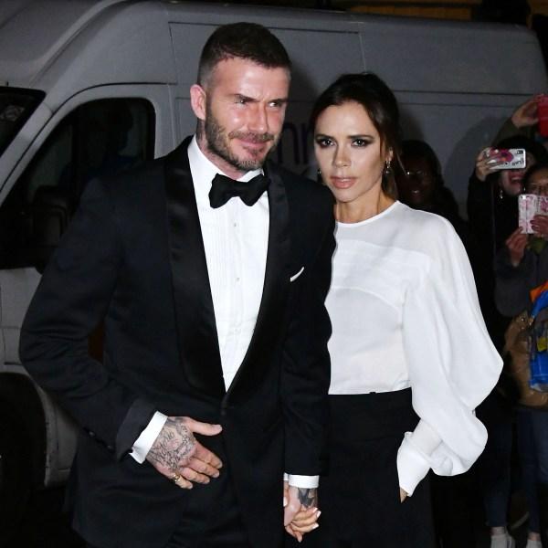 David Beckham Victoria Beckham