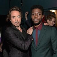 Chadwick Boseman, Robert Downey Jr.