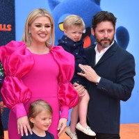 Kelly Clarkson and Brandon Blackstock,