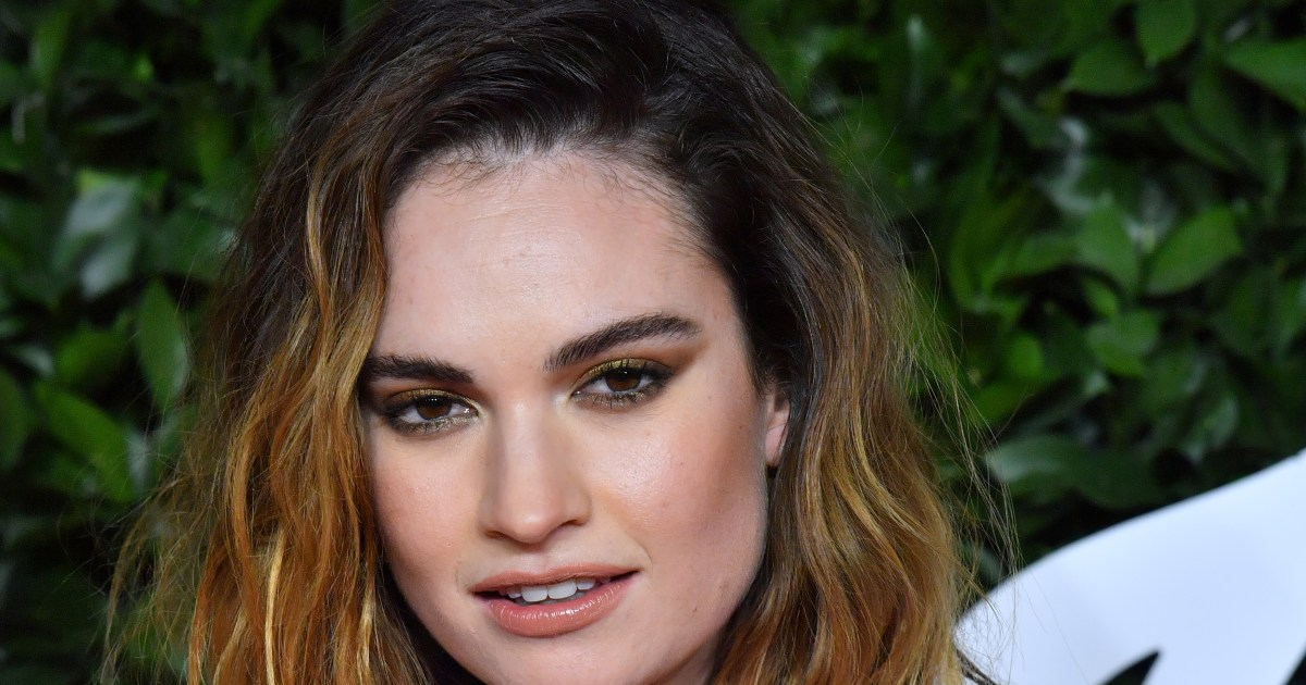 Lily James 'not really willing' to talk about Dominic West photo scandal.jpg