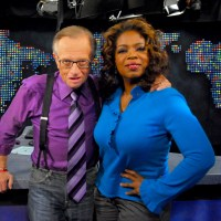 Oprah Winfrey, Larry King