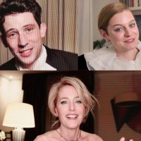josh o'connor emma corrin gillian anderson the crown split