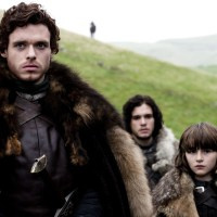 Richard Madden, Kit Harington, Isaac Hempstead Wright, Game of Thrones