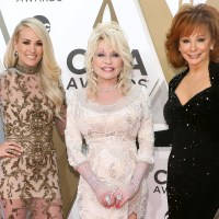Carrie Underwood, Dolly Parton, and Reba McEntire