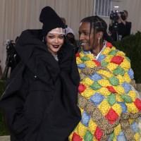 Rihanna, ASAP Rocky, Met Gala