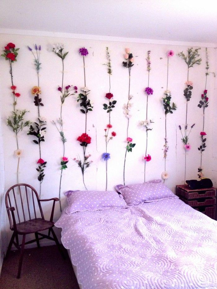 Wall Decor Ideas : Style that boring wall above your bed ... on Room Wall Decor id=26092