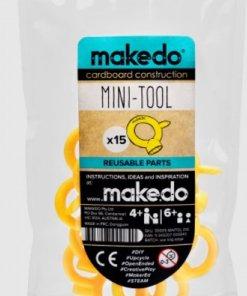 Mini tool, minitool 15 stuks makedo-wonderzolder.nl