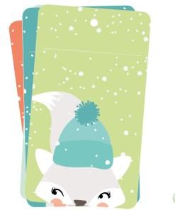 Kerst cadeaulabels Papiergoed, naamkaartjes cadeau -wonderzolder.nl