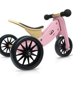 TinyTot Roze loopfiets, Kinderfeets, 2-in-1 fiets, Tiny tot, wonderzolder.nl
