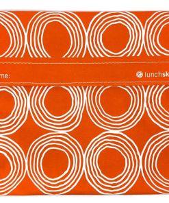 Lunchskins Sunset Circels, oranje,boterhamzakje, wonderzolder.nl