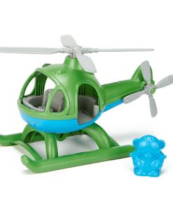 Helikopter Green Toys, vliegen met Green Toys, wonderzolder.nl