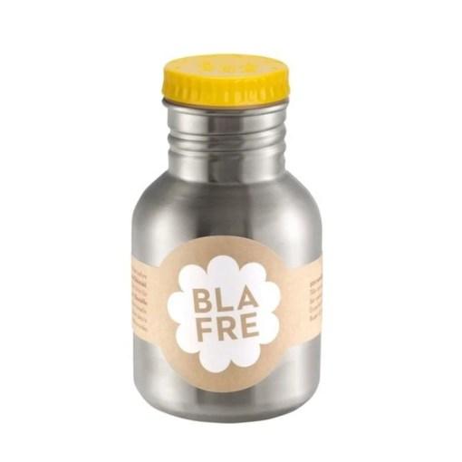 Steel bottle 300 ml Yellow van Blafre, wonderzolder.nl