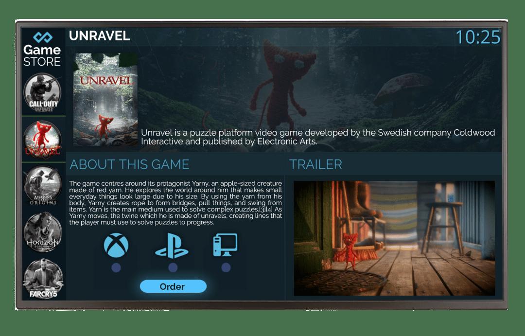 LG Landscape Scherm-DSS Gamestore
