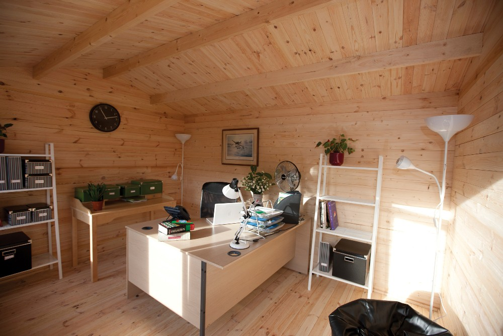 Forest VCHI344030SHHDINST Chiltern 4m X 3m Log Cabin Assembled