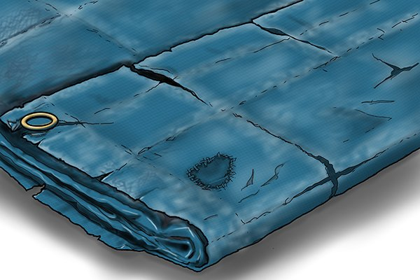 What Are Tarpaulins Made Of