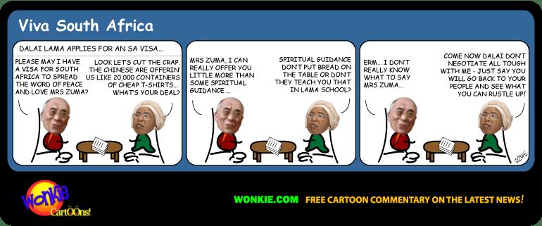 Show me the money Mr Lama! image