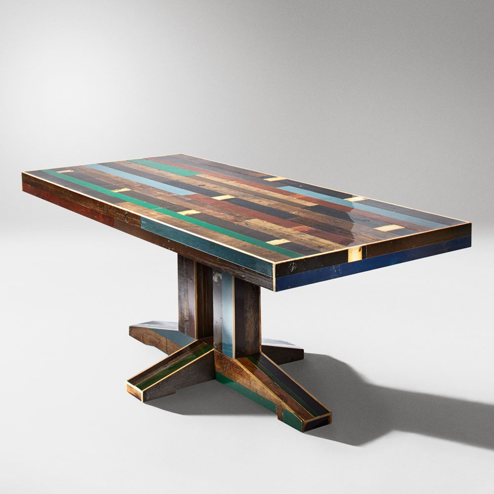 200 Canteen Table By Piet Hein Eek For The Future Perfect Wood Furniture Biz