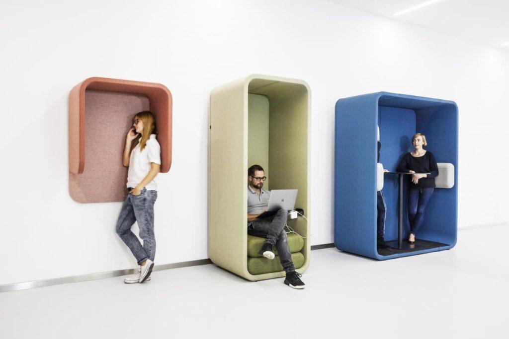 Phone Box Acoustique MELLOW Pour Apporter Du Silence En