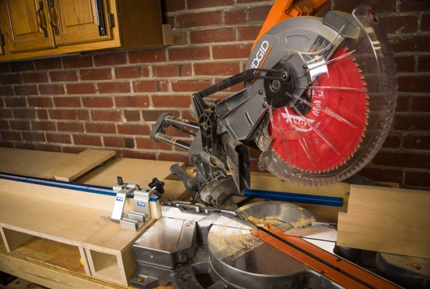 Need to make square cuts? Miter saw station plans