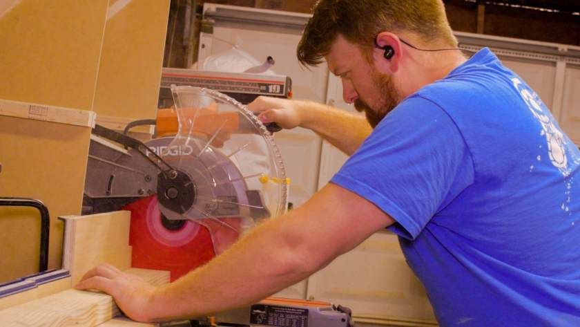 sawing ridgid isotunes pro