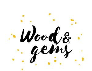 Logo Wood&Gems